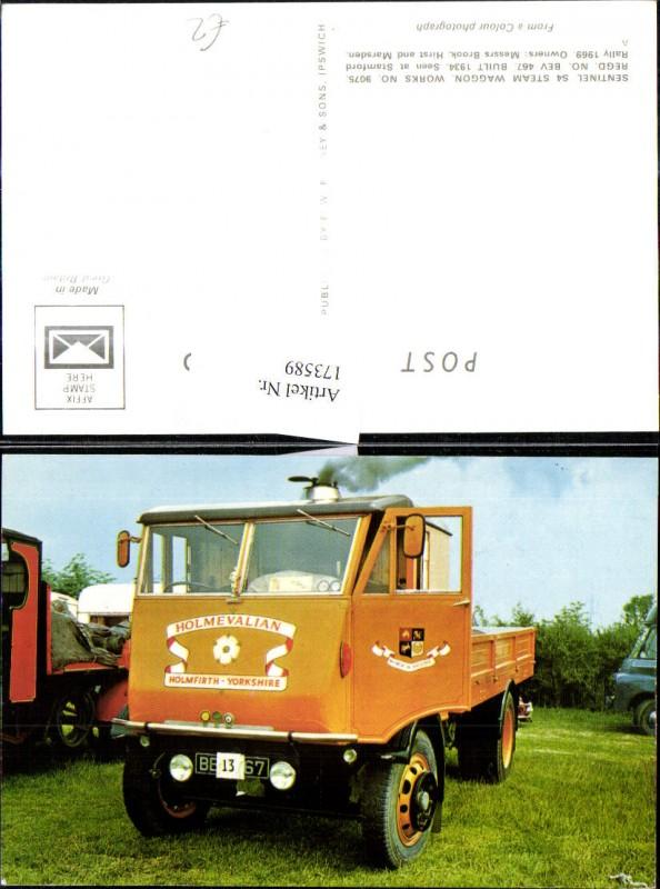 Sentinel S4 Steam Waggon Landwirtschaftliche Maschine