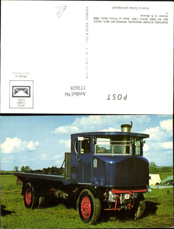 Sentinel Steam Waggon 8571 Landwirtschaftliche Maschine