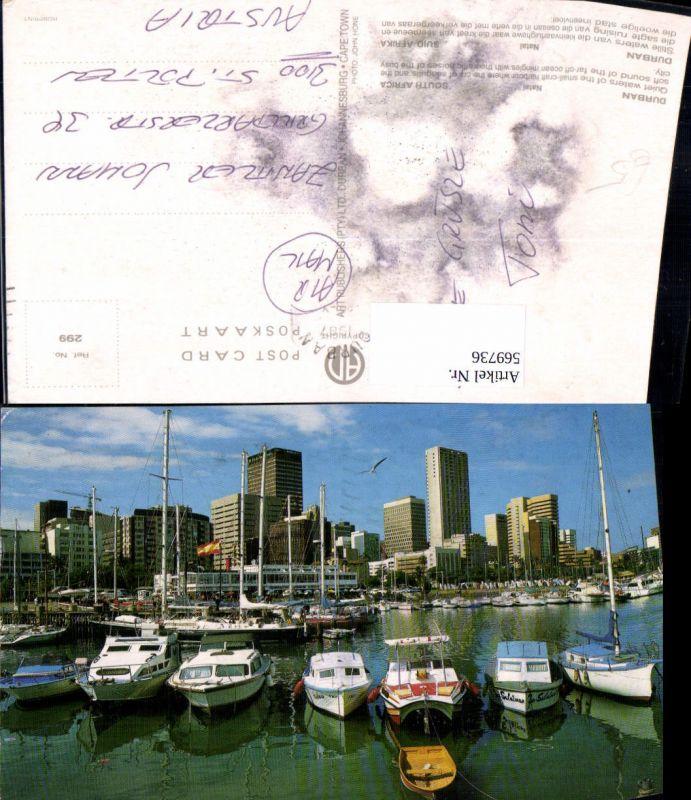 Durban Natal Hafen Boote South Africa