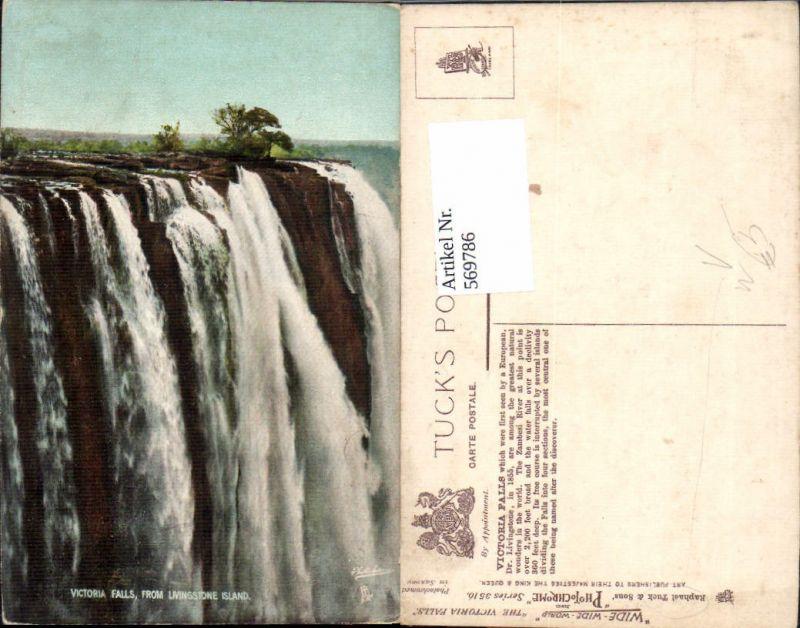 Victoria Falls Wasserfall Victoriafälle Simbabwe Südliches Afrika pub Rap