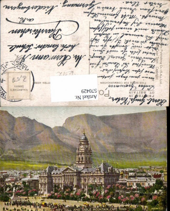 South Africa Cape Town City Hall