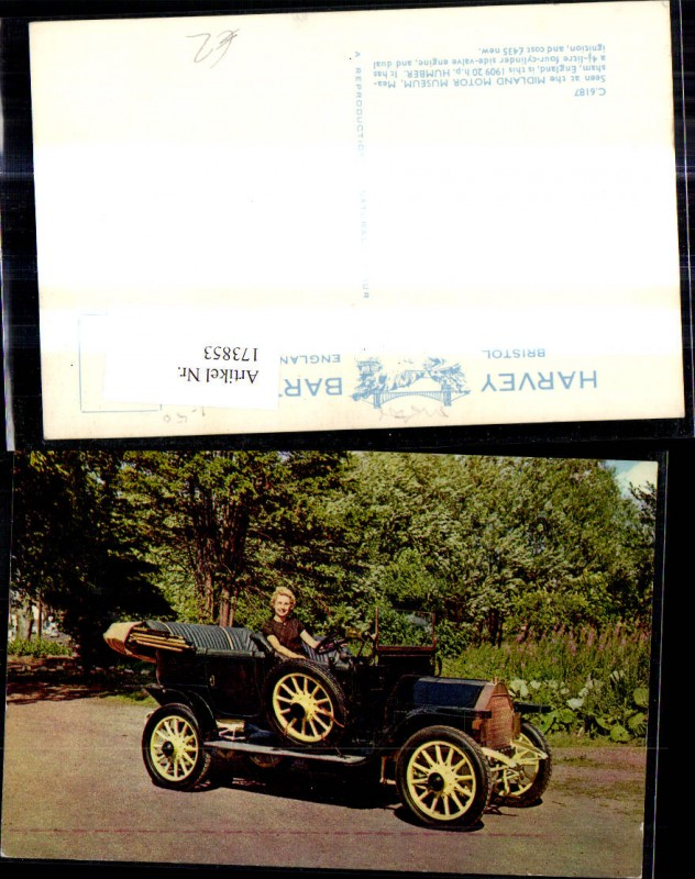 Automobil Oldtimer 1909 20 h.p. Humber