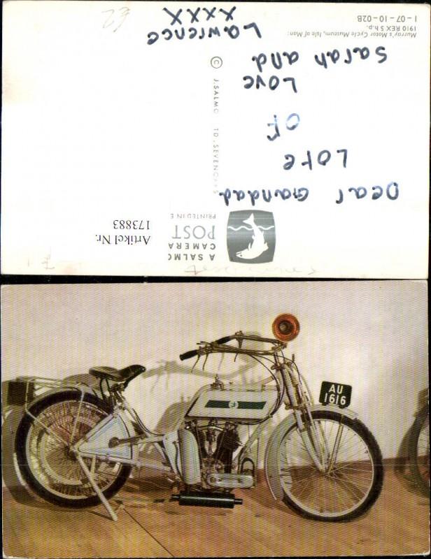 Automobil Oldtimer 1910 Rex 5 h.p.