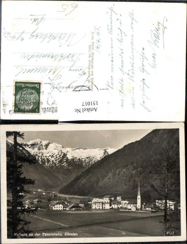 Mallnitz a. d. Tauernbahn Ansicht 1941