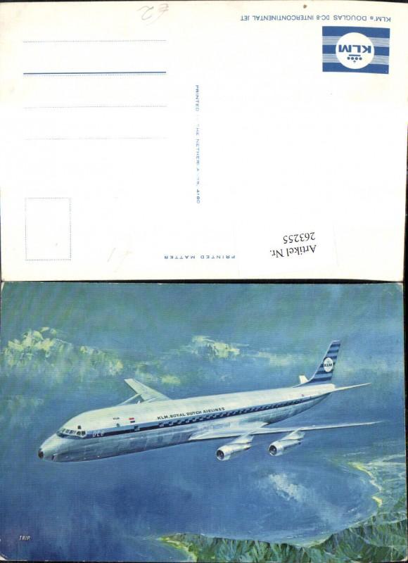 Flugzeug KLM Douglas DC 8 Intercontinental Jet