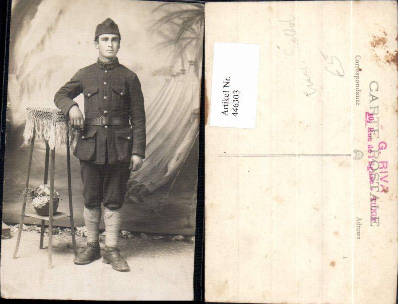 WW1 Französischer Soldat Uniform