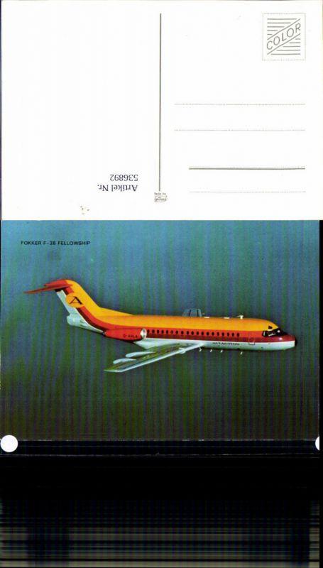 Aviaktik Flugzeug Fokker F-28 Fellowship