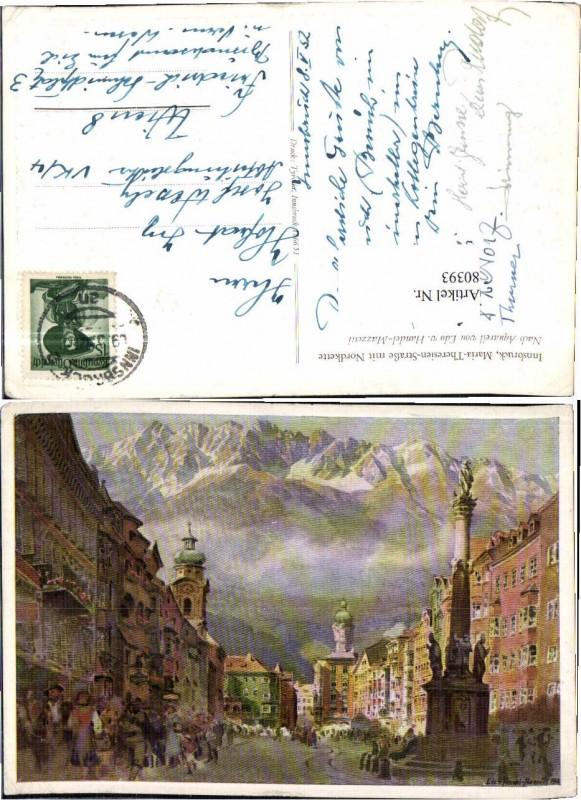 80393;Innsbruck Edo Handel Mazzetti Maria Theresienstra