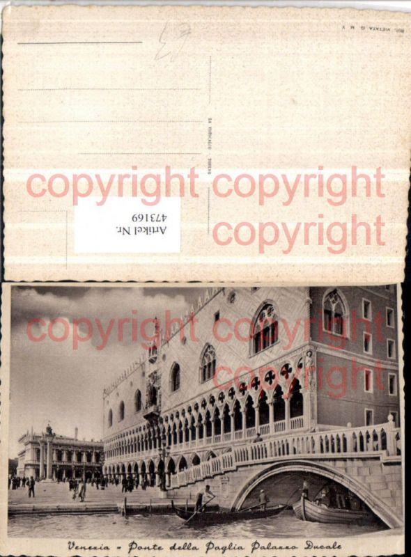Veneto Venezia Venedig Ponte della Paglia Palazzo Ducale Dogenpalast