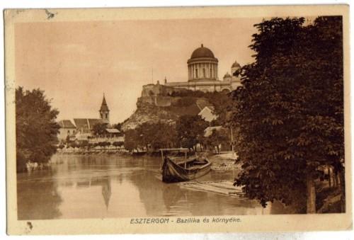 5950;Esztergom Bazilika es környeke