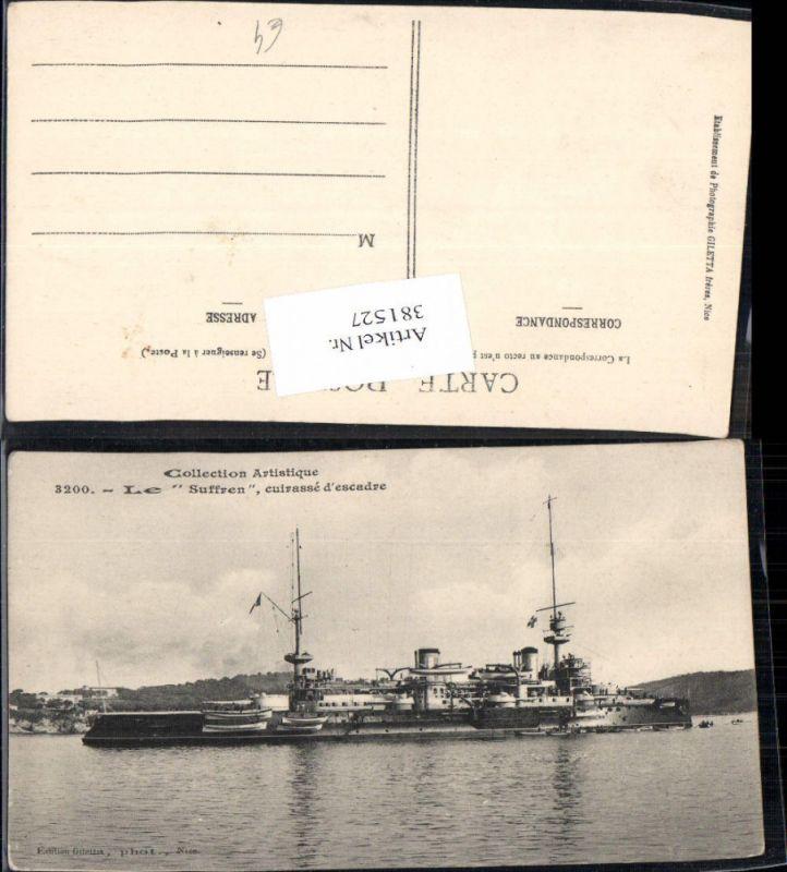 Schiff Kriegsschiff Le Suffren Cuirasse d escadre Kreuzer