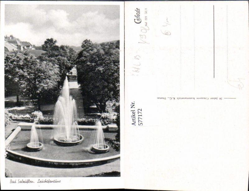 Bad Salzuflen Leuchtfontäne Springbrunnen Brunnen