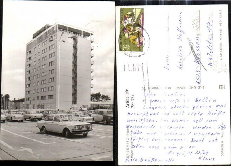 Personenwagen Auto Sassnitz Rügen Rügen Hotel Oldtimer