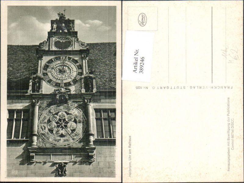 Technik Uhr am Rathaus Heilbrunn