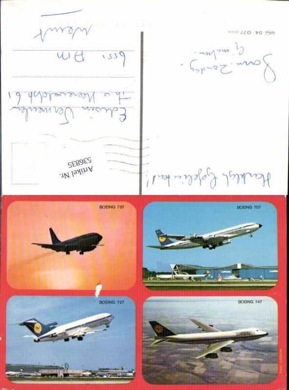 Aviaktik Flugzeug Boeing 737 727 707 747 Lufthansa
