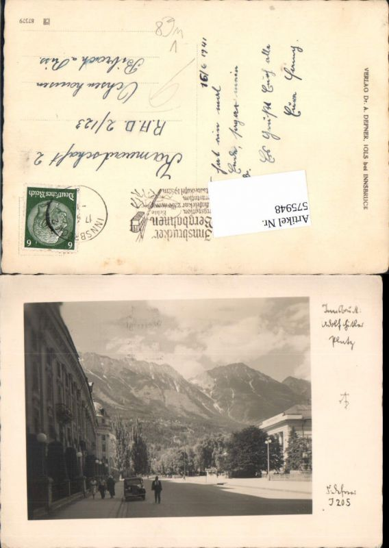 Innsbruck Platz gel. RAD Lager 2/23 Ochsenhausen Biberach a. Riss pub Def