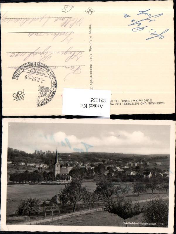Wetteldorf Schönecken i. d. Eifel Totale