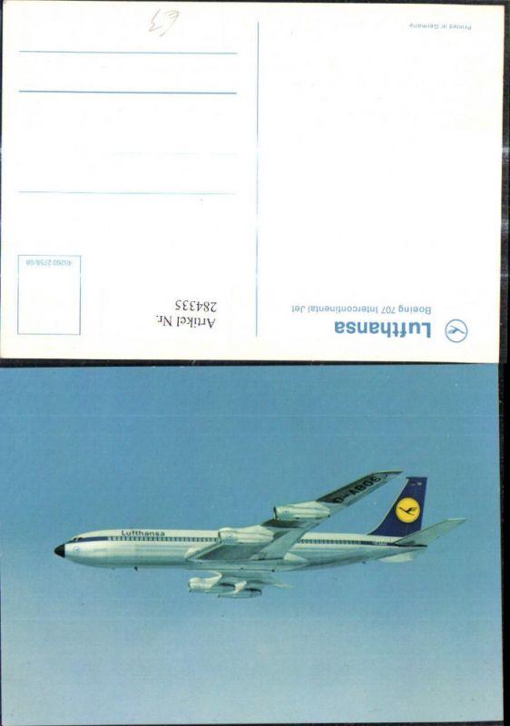 Flugzeug Lufthansa Boeing 707 Intercontinental Jet D-ABOS