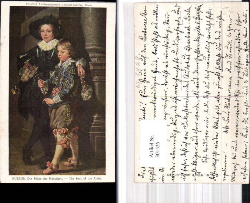 Künstler Ak Peter Paul Rubens Die Söhne des Künstlers