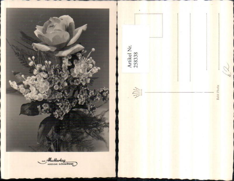 Muttertag Blumenstrauß Rose Blumen pub Foto Hubmann