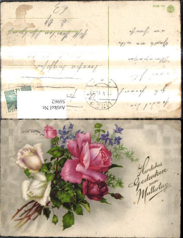 Muttertag Blumen Rosen Strauß