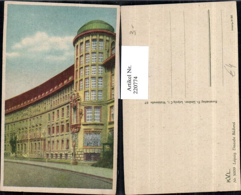 Leipzig Deutsche Bücherei Bibliothek