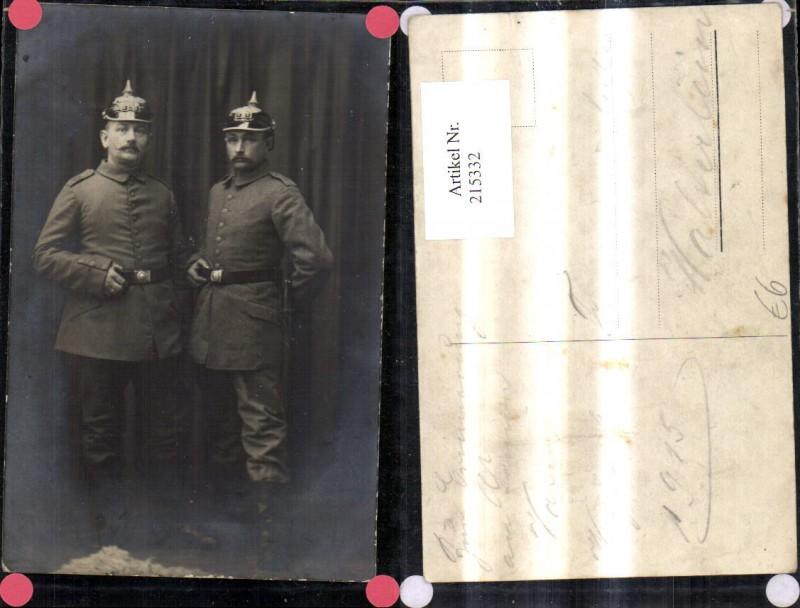 K.k. Soldaten Pickelhaube Uniform Gürtel