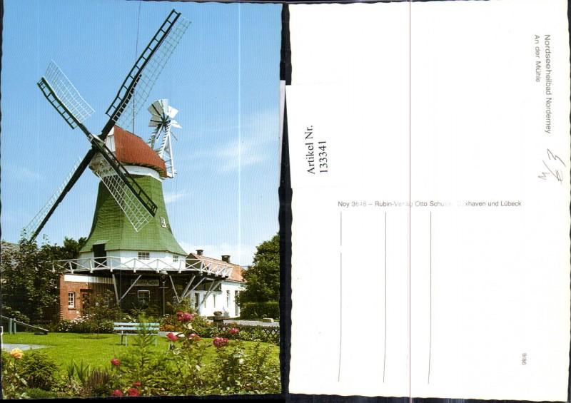 Windmühle Nordseeheilbad Norderney An d. Mühle
