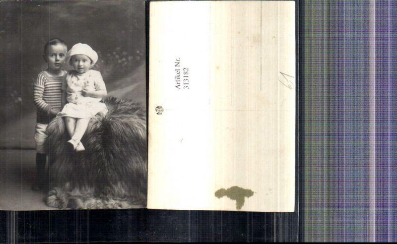 Foto Ak Kinder Portrait a. Fell