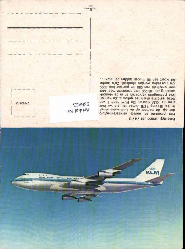 Aviaktik Flugzeug Boeing jumb Jet 747 B