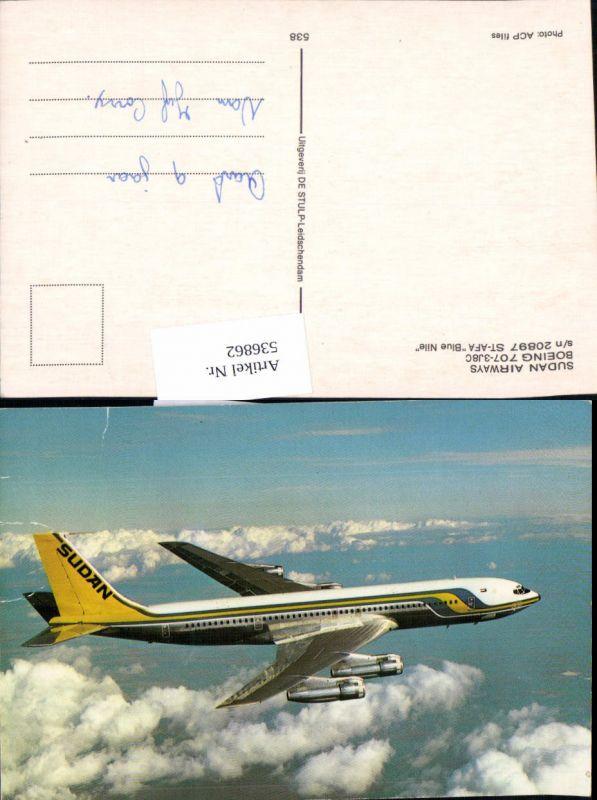 Aviaktik Flugzeug Sudan Airways Boeing 707-3J8C