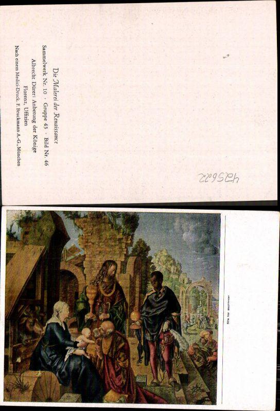 Künstler Ak Albrecht Dürer Anbetung der Könige Renaissance