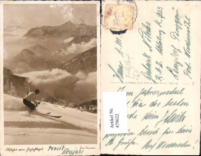 Foto Ak Abfahrt Hochschlegel Skifahren Schifahren Wintersport