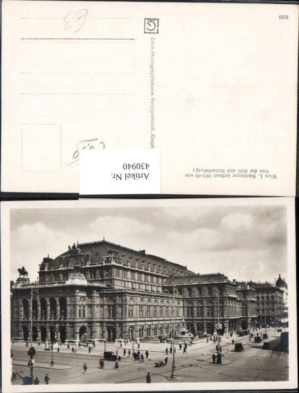 Wien Staatsoper Oper Automobile