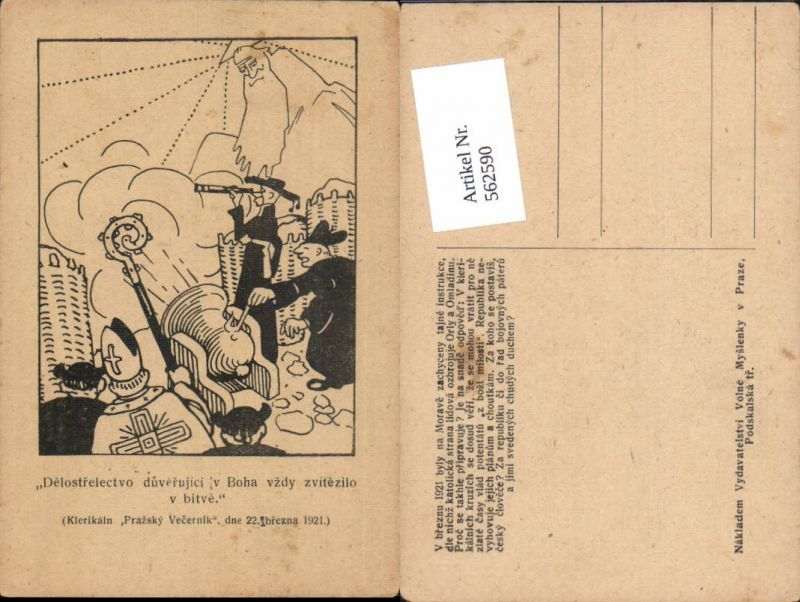 Religion Delostrelectvo Boha vzdy bitve Prag Praha Nikolo Nikolaus