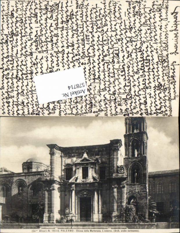 Sicilia Palermo Martorana Kirche