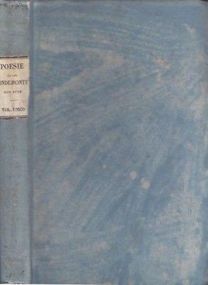 PINDEMONTE, Poesie. Con Note. 1833