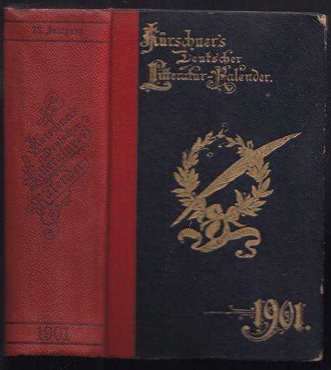 KLENZ, Kürchners Deutscher Litteratur Kalender... 1901