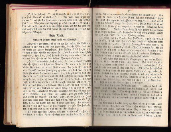 Tausend und Eine Nacht. Arabische Erzählungen. 1854 0563-03