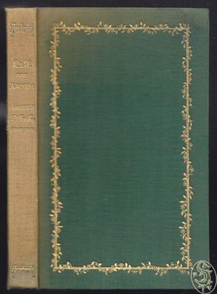 ARNIM, Ariel's Offenbarungen. Herausgegeben von... 1912