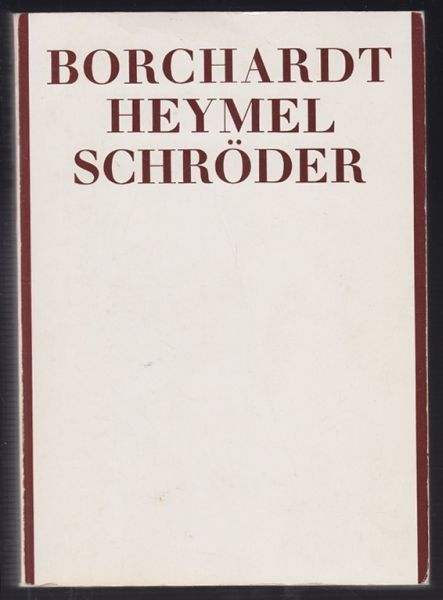 ZELLER, Rudolf Borchardt. Alfred Walter Heymel.... 1978