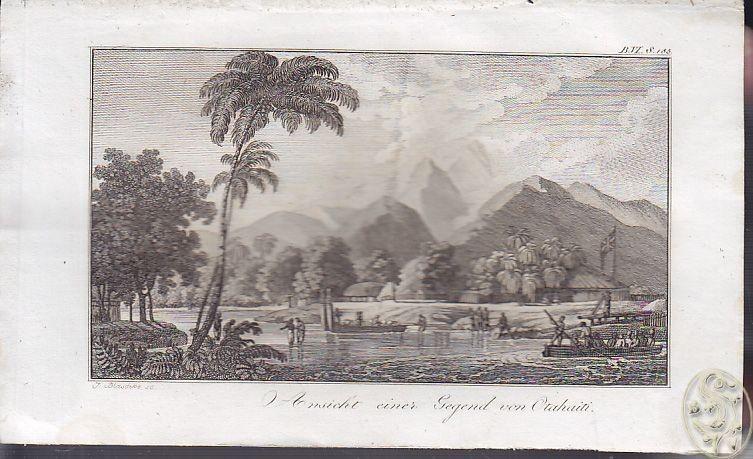 Ansicht eine Gegend con Otahaiti. 1808