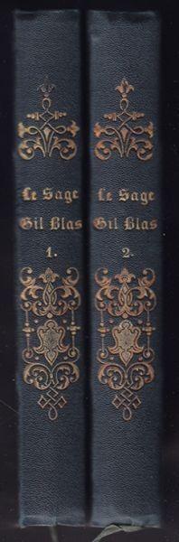 LE SAGE, Geschichte des Gil Blas von... 1856
