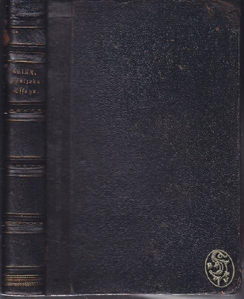 GRIMM, Fünfzehn Essays. 1874