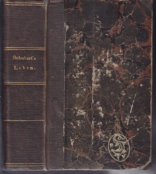 SCHUBART, Schubart's Leben und Gesinnungen. Von... 1791