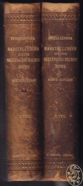 FRIEDLAENDER, Darstellungen aus der... 1910