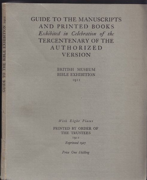 Guide to the Manuscripts and Printed Books... 1927