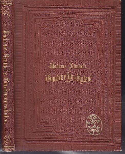 JERROLD, Madame Kaudel's Gardinenpredigten. 1872