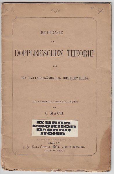 MACH, Beiträge zur Doppler'schen Theorie der... 1873