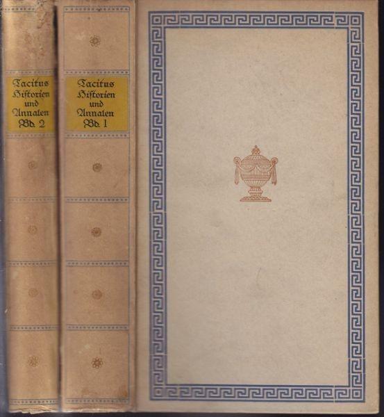 TACITUS C .C., Historien und Annalen nach der... 1918